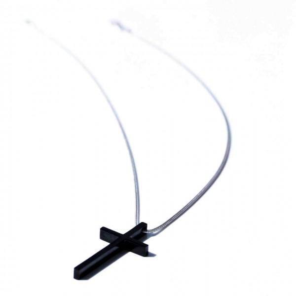 Kreuz Halskette-925 Silber