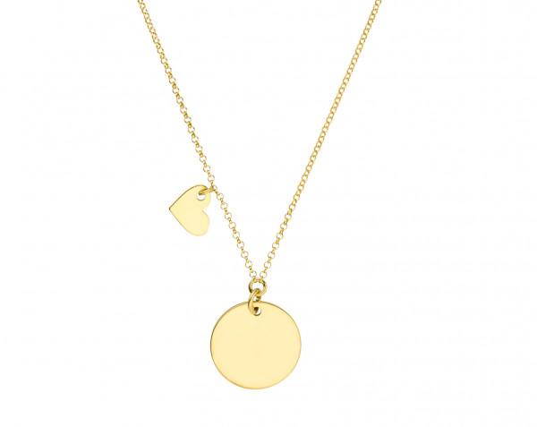 Buchstabengravur Wunschinitiale Halskette Muttertagsgeschenk Kette