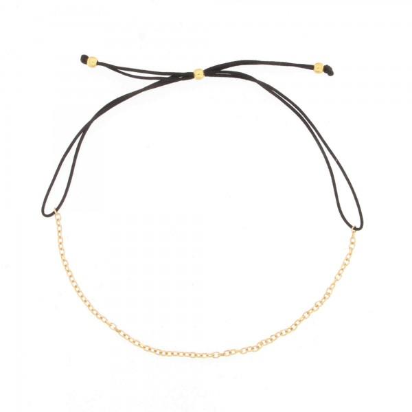 Armband Basic Fein Zierlich 925 Silber vergoldet
