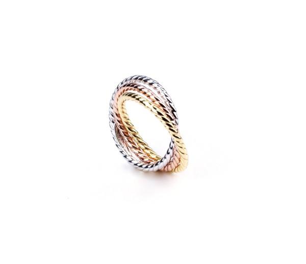 Dreifarben-Ring