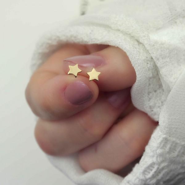 Ohrstecker Stern 925 Silber | Ohrringe Star