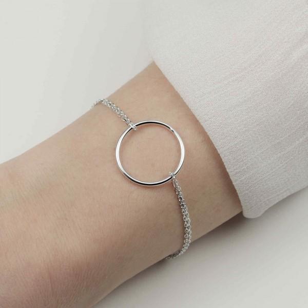 Armkette Kreis Unendlichkeit 925 Silber