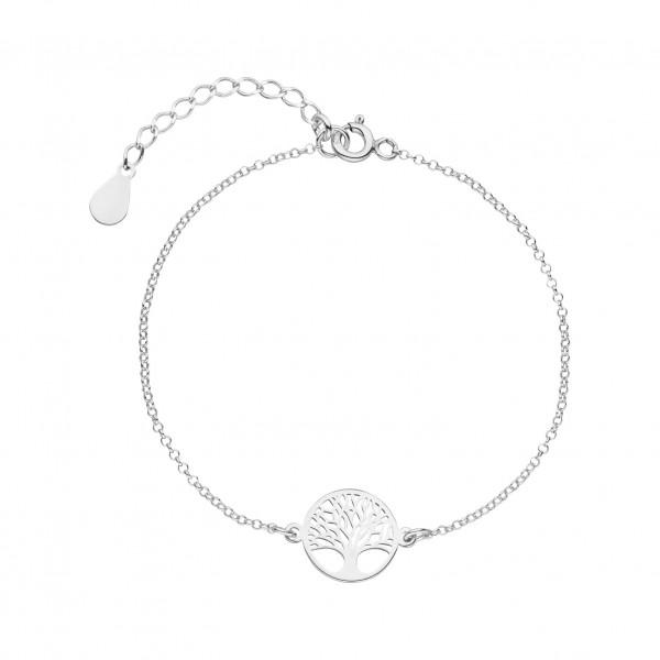 Armband Baum des Lebens 925 Silber | Lebensbaum Armkette Schmuck