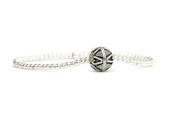Armband Bali Perle, 925 Silber