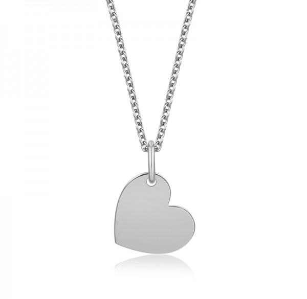 Halskette Herz Anhänger Silber 925